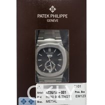 Πατέκ Φιλίπ (Patek Philippe) Nautilus Black/Steel 40.5mm -...