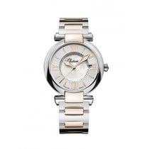 Chopard Ladies 388532-6002 Imperiale Quartz 18k Rose Gold, Steel