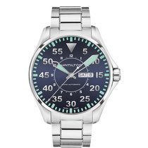 Hamilton Men's H64715145 Khaki Aviation Pilot Auto Steel