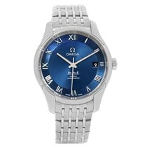 Omega Deville Co-axial 41mm Blue Dial Watch 431.10.41.21.03.001