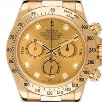 Rolex Daytona Cosmograph 18kt Gelbgold Automatik Chronograph...