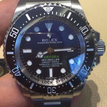 Rolex Sea-Dweller Deepsea D-Blue James Cameron Papers 2016