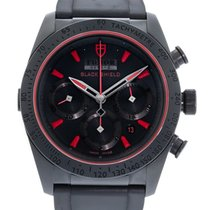 Tudor Fastrider Black Shield 42000CR Watch with Rubber...