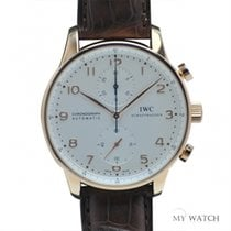 IWC Portuguese Automatic 18k Rose Gold IW371480  (NEW)