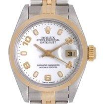 Rolex Datejust Stainless Steel & Yellow Gold Ladies Watch...