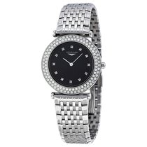 Longines La Grande Classique Black Dial Stainless St Ladies