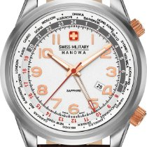 Hanowa Swiss Military WORLDTIMER 06-4293.04.001 Herrenarmbandu...