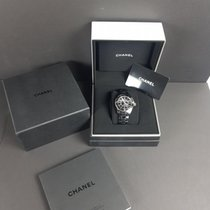 Chanel J12 38MM AUT CERAMICA NERA