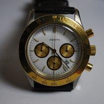 Zenith Cronografo quarzo acciaio oro