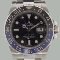 Rolex GMT MASTER II 116710BLNR + BATMAN + LC100 + NEW