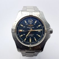 Breitling Colt Automatic 44MM BLUE A1738811 UNWORN-STICKERS ON...