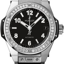 Hublot Big Bang One Click 39mm Steel Diamonds