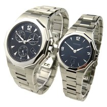 Concord Mariner His & Hers Steel Quartz Set