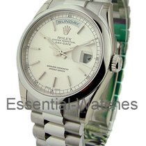 Rolex Unworn 118206 Mens Platinum Day - Date President with...