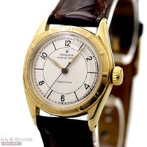 Rolex Vintage Oyster Royal Precision Ref-6021 10k Yellow Gold...