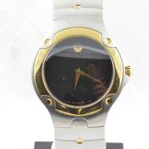 Movado Damen Uhr 39mm Stahl Vergoldet Museum Watch Rar Rar