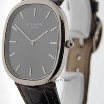 Patek Philippe Ellipse 3738 18K White Gold Mens Watch Box/Pape...