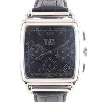Ζενίθ (Zenith) El Primero Automatic black dial 010420400