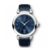 IWC Da Vinci Automatic  Blue Dial IW458312 Mid-Size WATCH