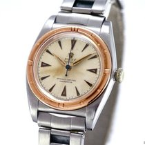 롤렉스 (Rolex) Vintage Oyster Bubble-Back Ref-3372 Stainless...
