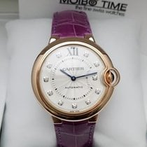 卡地亚 (Cartier) Ballon Bleu Cartier 18K Pink Rose Gold 33mm [New]