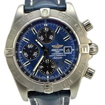 Breitling Galactic Chronograph II Blue Dial A1336410