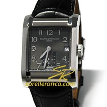 Baume & Mercier Hampton Rectangular Black Dial - 10027