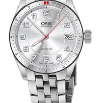 Oris Artix GT Date, Tungsten Top Ring, Steel Bracelet