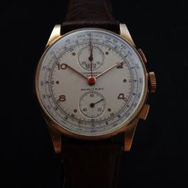 Britix Vintage Mechanical 18k Gold Chronograph