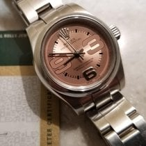 Rolex Oyster Perpetual Salmon/ Pink dial non date 2009