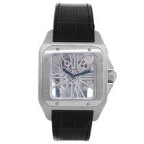 Cartier Santos 100 Skeleton XL Men's Watch