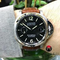 파네라이 (Panerai) Luminor PAM48 PAM00048 40mm Brown Strap...