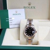 Rolex 178241 Midsize Datejust 31MM 18K Rose Gold & Steel