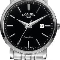 Roamer CLASSIC LINE GENTS 709856 41 55 70 Herrenarmbanduhr...