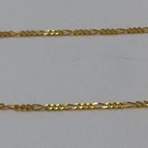 Lot of two silver chains, Cartier style, for watch key Two...