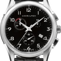 Hamilton Jazzmaster Thinline H38612733 Herrenchronograph flach...