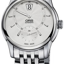 Oris Artelier Jumping Hour Automatic Stainless Steel Mens...