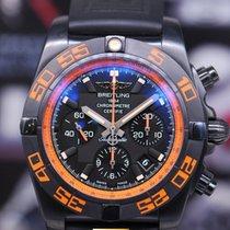 브라이틀링 (Breitling) Chronomat 44 Raven Blacksteel Chronograph...