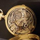 Monard Brothers Geneva Chronograph 138 gr. 18 Kt Gold Taschenuhr
