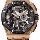 Audemars Piguet ROYAL OAK OFF SHORE CHRONO TOURBILLON ROSE GOLD