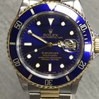Rolex Submariner Steel&Gold Blue Dial