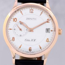 제니트 (Zenith) Class Elite 37 Gold 18K Klassiker Hadn Wind Date...