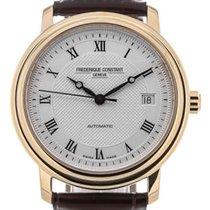 Frederique Constant Classics Automatik 38 Guilloche Dial Gold...