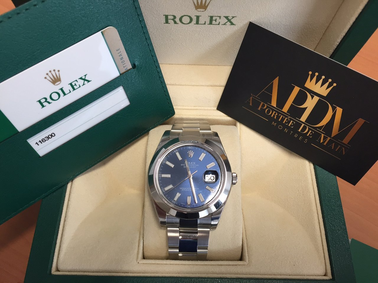 Rolex Datejust 2 Bleu
