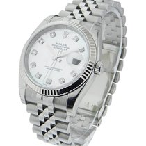 Rolex Unworn 116234 Datejust 36mm in Steel with White Gold...