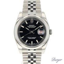 Rolex Datejust 36 Oyster Black