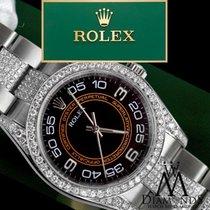 ロレックス (Rolex) Oyster Perpetual 116000 No-date 36mm Black And...