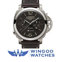 Panerai LUMINOR 1950 CHRONO MONOPULSANTE 8 DAYS GMT TITANIO -...