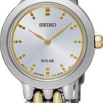 Seiko Solar SUP349P1 Elegante Damenuhr Sehr Elegant