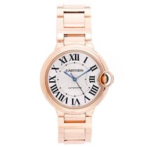 Cartier Ballon Bleu 36mm 18K Rose Gold Watch W69003Z2